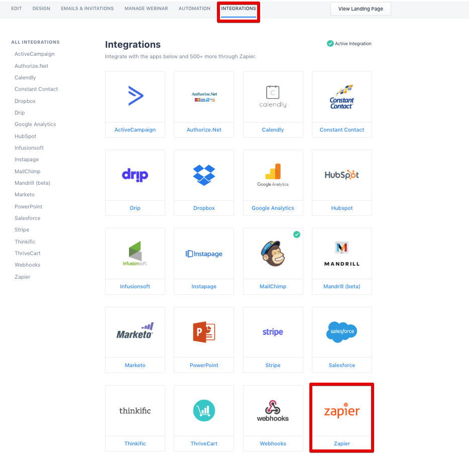 How to Integrate with Zapier – BigMarker