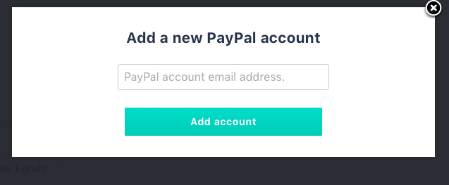 How do I transfer my treasury funds to my PayPal account