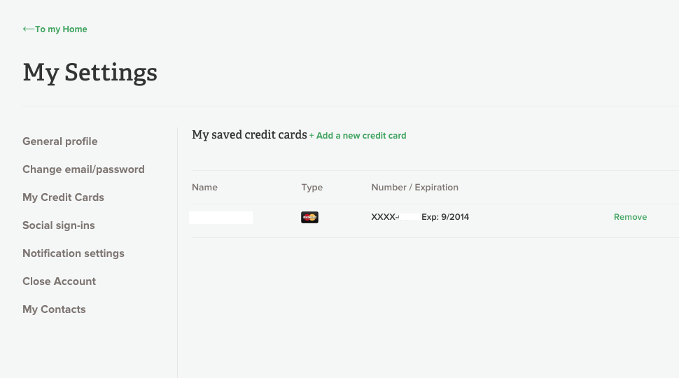 how to change my netflix credit card